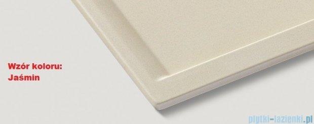 Blanco Zenar 45 S-F  Zlewozmywak Silgranit PuraDur komora prawa kolor: jaśmin z kor. aut. i szklaną deską do krojenia 519295