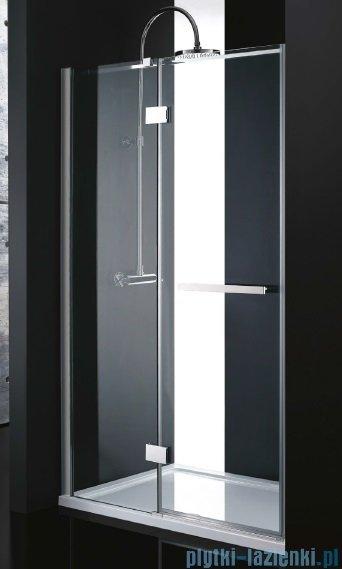 Atrium Ferrara drzwi wnękowe uchylne kolor: przejrzyste 100x200 cm UP2100