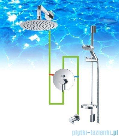 Omnires Y podtynkowy zestaw prysznicowy chrom SYSY17