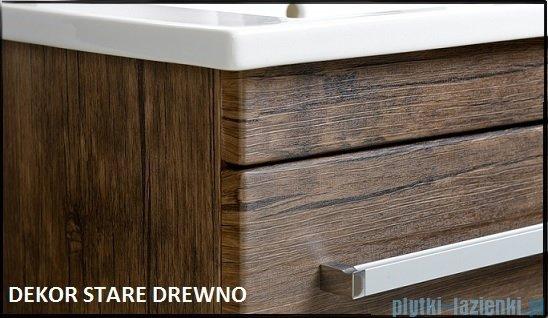 Antado Spektra ceramic szafka podumywalkowa 2 szuflady 82x43x50 stare drewno FDF-AT-442/85/2GT-50