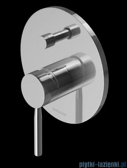 Kohlman Maxima Podtynkowa bateria wannowa chrom QW215M