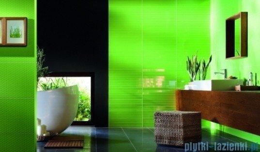 Listwa ścienna Tubądzin Colour Flower Green 1 59,3x16,25