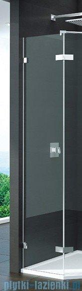 SanSwiss Pur PUT52P Ścianka boczna do kabiny 5-kątnej 30-100cm profil chrom szkło Durlux 200 PUT52PSM11022