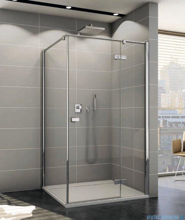 Sanswiss Melia ME13P Kabina prysznicowa prawa 120x100cm przejrzyste ME13PD1201007/MET1PG1001007