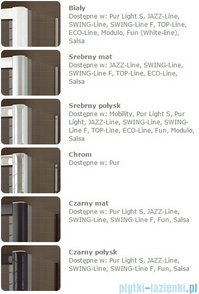 Sanswiss Melia ME32 Kabina prysznicowa prawa 100x90cm przejrzyste ME32PD1001007/MET2PG0901007
