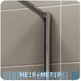 SanSwiss Melia MET1 ścianka prawa 80x200cm przejrzyste MET1PD0801007