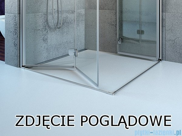 Radaway Arta Kdj I kabina 80x80cm lewa szkło przejrzyste 386081-03-01L/386020-03-01