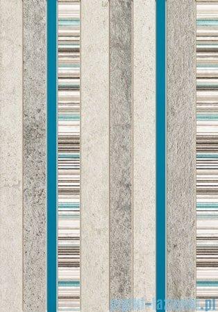 Domino Gris turkus dekor ścienny 25x36