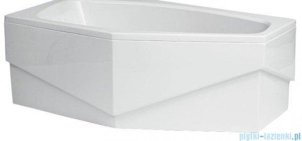 Polimat Marika obudowa akrylowa do wanny asymetrycznej 140x80 cm lewa 00684