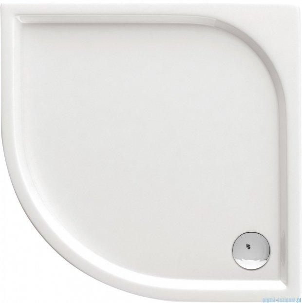 Deante Cubic brodzik półokrągły 90x90 biały KTK 051B