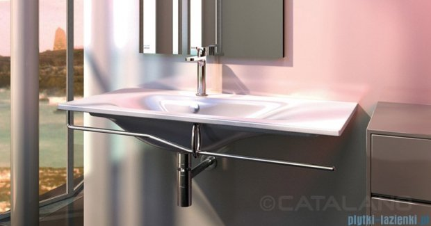 Catalano Impronta Reling do umywalki 121 cm chrom 5P125IM00