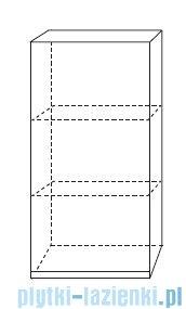 Antado Combi szafka wisząca górna lewa 45x20cm biała ALT-114-L-WS