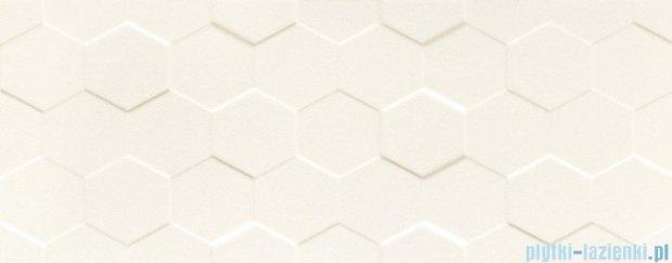 Tubądzin Elementary white hex STR płytka ścienna 29,8x74,8