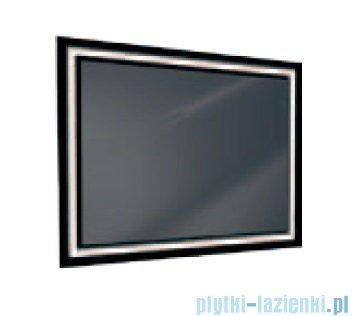 Antado lustro z ramką świetlną lacobel LED zimne 100x80cm L1-E4-LED2B
