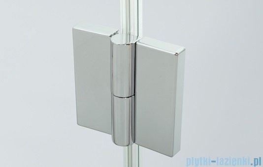 Sanplast kabina narożna prostokątna lewa przejrzyste KNDJ2L/AVIV-90x110 90x110x203 cm 600-084-0230-42-401