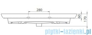 Cerastyle City K umywalka 100,5x52cm meblowa / ścienna 083700-u