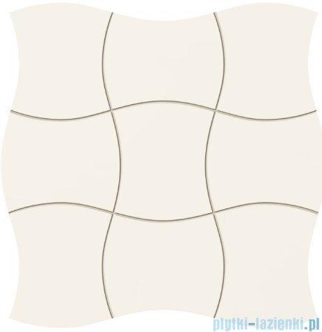 Tubądzin Royal Place white mozaika ścienna 29,3x29,3