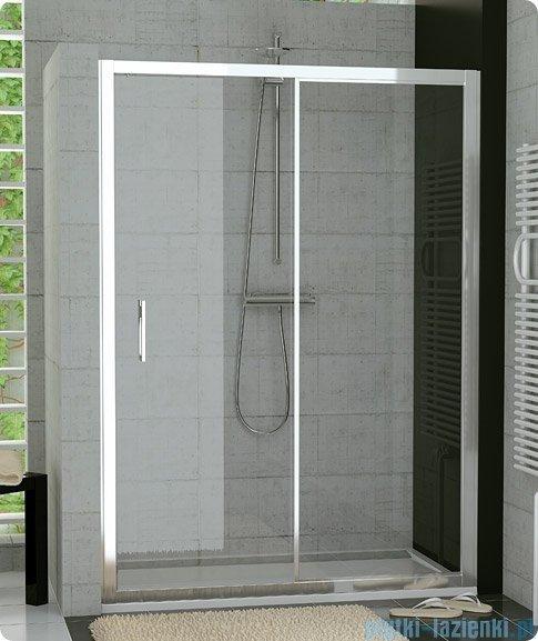 SanSwiss Top-Line TOPS2 Drzwi 2-częściowe rozsuwane 160cm profil połysk TOPS216005007