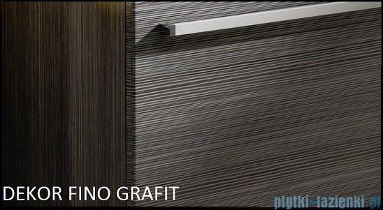 Antado Spektra ceramic szafka z umywalką 2 szuflady 82x43x50 fino grafit FDF-AT-442/85/2GT-46+UCS-AT-85