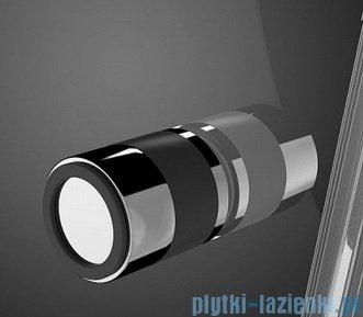 Radaway Eos PDD kabina prysznicowa 80x80 szkło intimato + brodzik Delos A + syfon 37613-01-12N