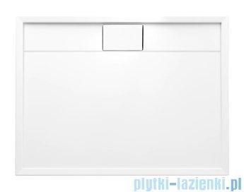 Schedpol Lapis brodzik prostokątny z klapką odpływu 120x90x5cm 3.4225