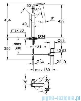 Grohe Veris bateria umywalkowa DN 15 chrom 32191000