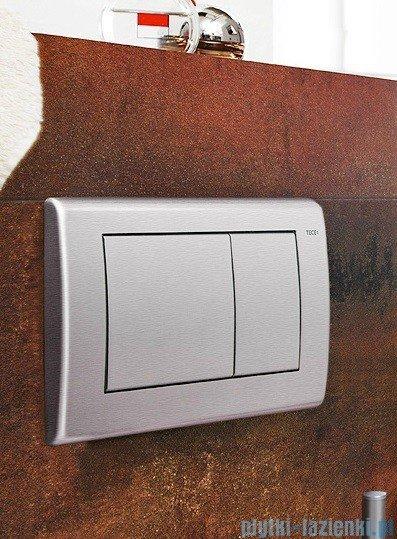 Tece Przycisk spłukujący-do WC Teceplanus stal szlachetna szczotkowana (matowy) 9.240.320