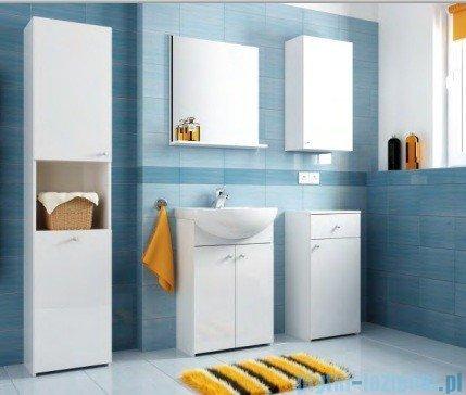 Aquaform Maxi II szafka wysoka z półką biały 0412-260100