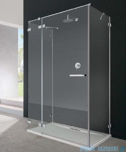 Radaway Euphoria KDJ+S Kabina przyścienna 100x110x100 lewa szkło przejrzyste 383023-01L/383052-01/383032-01