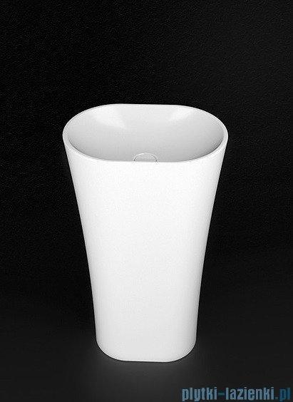 Marmorin umywalka stojąca Wega 440 biała 44x30x85 cm P515050020010