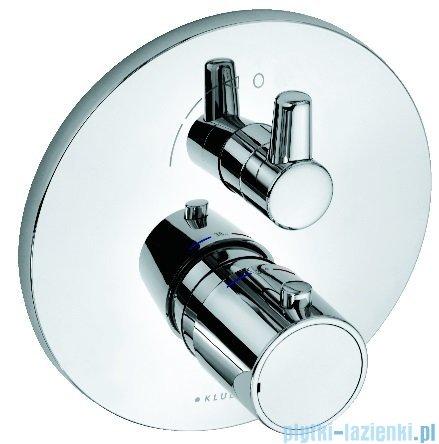 Kludi O-Cean/Zenta Podtynkowa bateria natryskowa z termostatem chrom 388350545