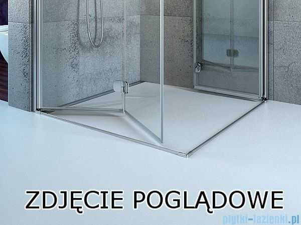 Radaway Fuenta New Kdj+S kabina 75x110x75cm prawa szkło przejrzyste 384023-01-01R/384049-01-01/384049-01-01