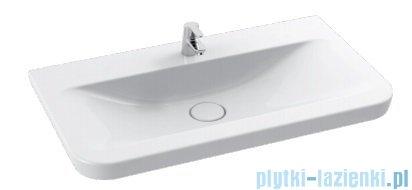 Cerastyle Modus umywalka 96x55,5cm meblowa / ścienna 082300-u