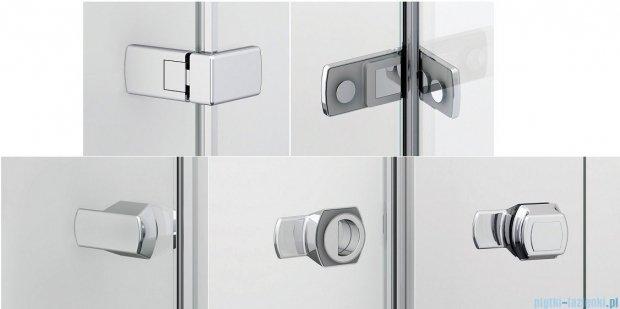 Sanswiss Melia ME31P Kabina prysznicowa prawa 100x90cm przejrzyste ME31PD1001007/MET2PD0901007