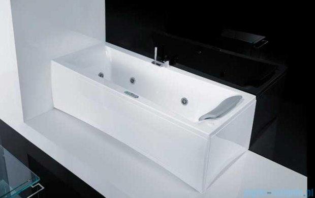 Novellini Elysium Wanna Y 180x80 z hydromasażem wodnym LEWA Y518080RS2-A2K