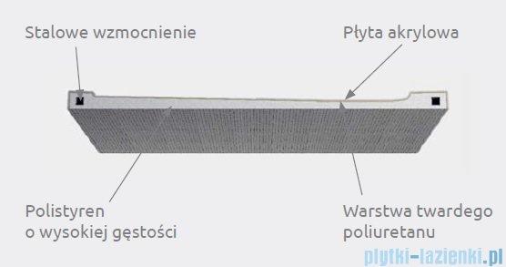 Radaway Doros Plus D Brodzik prostokątny 120x100x5cm SDRPD1210-01
