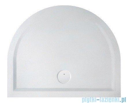 Sanplast Brodzik przyścienny Space Line 100x100x1,5cm + syfon 645-290-0460-01-000