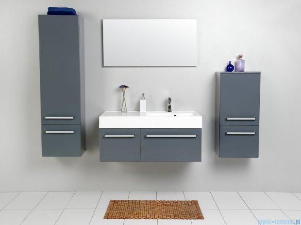 Antado Variete szafka z umywalką, wisząca 100 szary połysk FM-442/6-K917 + FM-442/4-K917 + UNAM-1004P