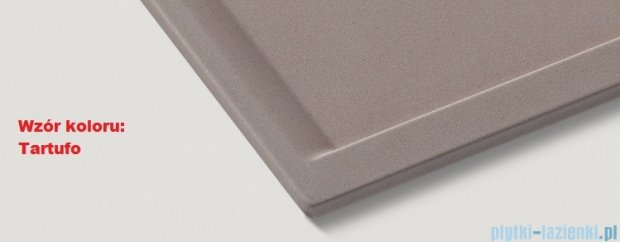 Blanco Subline 500-U zlewozmywak Silgranit PuraDur  kolor: tartufo  z k. aut. 517434