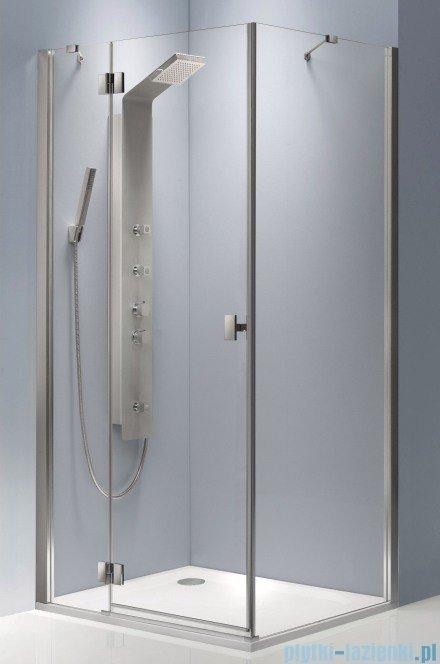 Radaway Essenza KDJ kabina 120x80 lewa szkło przejrzyste + Brodzik Doros D + syfon 32832-01-01NL