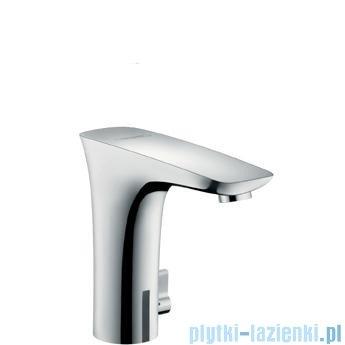 Hansgrohe PuraVida Electronic Samoczynna bateria umywalkowa na podczerwień kolor biały/chrom 15172400