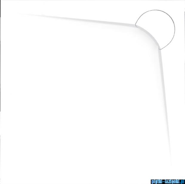 Vayer Bumerang 100x100cm Brodzik kwadratowy z konglomeratu marmurowego