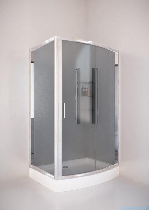 Sea Horse Sigma kabina natryskowa narożna Tytan  120x90 szkło: grafitowe   BK262G