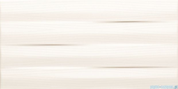 Tubądzin Maxima white struktura płytka ścienna 22,3x44,8