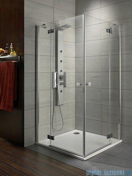 Radaway Almatea Kdd Gold kabina prysznicowa 90x80 szkło intimato 32186-09-12N