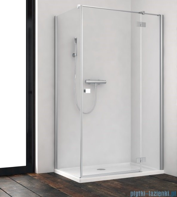 Radaway Essenza New Kdj kabina 100x100cm prawa szkło przejrzyste 385040-01-01R/384052-01-01