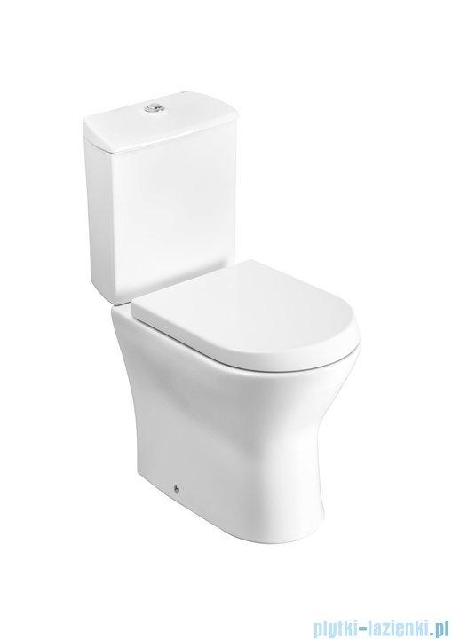 Roca Nexo miska stojąca do kompaktu wc biała Maxi Clean A34264000M