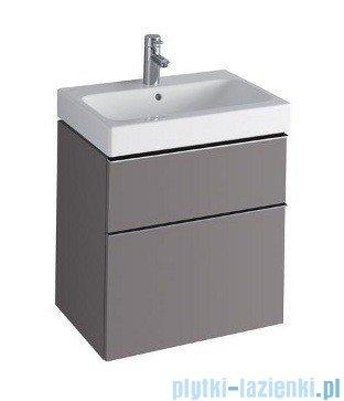 Keramag Icon Szafka wisząca pod umywalkowa 59,5cm platynowy połysk 840362