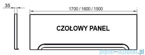 Ravak Przedni panel A 160 do wanien CZ001S0A00