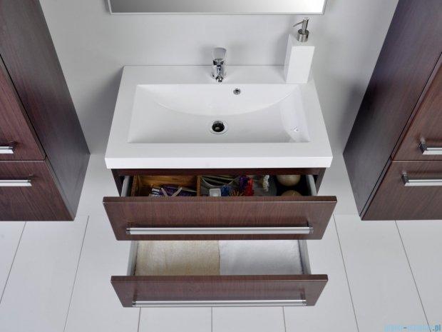 Antado Variete szafka z umywalką, wisząca z dwiema szufladami 60x39x40 wenge mat FDM-C-442/6/2 + UMMC-600X390